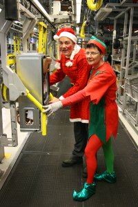 Christmas Fancy dress for the production team.
