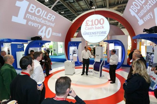 EcoBuild Stand 2014 Worcester Bosch Group 2